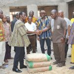 Ashaiman Area Donates To Ashaiman Chief Palace's Project