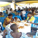 Wife Of Sefwi Wiawso Area Head Fetes 200 Orphans