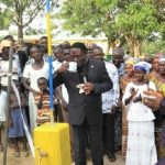 Mechanised Water Facility Commissioned At Twifo Agona Pentecost Clinic
