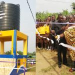 Pastor John Mensah Yanney Constructs Small Community Water Point At Alabokazo