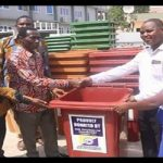 Ashaiman Area Donates 50 Dustbins To Schools In Ashaiman