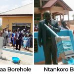 PENTSOS Constructs 2 Boreholes At Asantekwaa, Ntankoro Communities