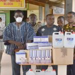 Ho Area Donates PPEs To Ho Teaching Hospital To Fight COVID-19 Pandemic