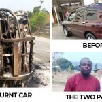 Two Pastors Escape Death After Fire Guts Their Vehicle