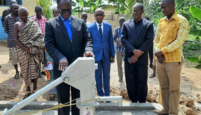 Cape Coast Area Constructs Borehole For Mmaniaye Community