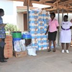 Ashaiman Area Donates COVID-19 Relief Items To Ashaiman Polyclinic