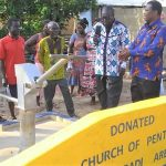 PENTSOS Constructs Boreholes For Kwesikrom, Essaman Communities