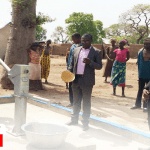 COP Constructs Boreholes For Gbonkoyiri, Vondiel Communities