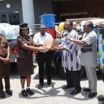 The Church of Pentecost Donates Medical Supplies Worth GHS 30,000.00 To Curb Spread Of COVID-19 In Ghanaian Prisons