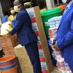 Kwadaso Area Donates To Hospital To Fight COVID-19