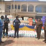 Obuasi Area Donates To Hospitals, Police And Prisons