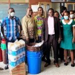 Downtown-Ofaakor Area Donates To Kasoa New Market Health Centre To Combat COVID-19 Pandemic