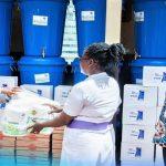 Konongo Area Donates To Asante-Akim Health Directorate, Police Service
