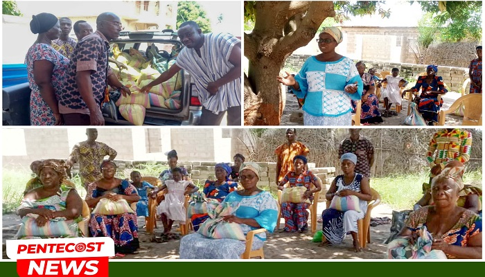 Agorve-Woe District Donates To The Aged, Vulnerable Members