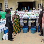Ashanti Bekwai Area Donates PPEs To 5 Hospitals, Police And Traditional Council