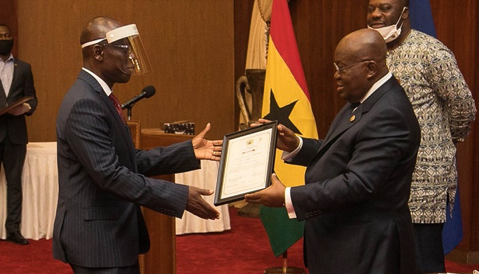 PUC Receives Presidential Charter