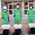 Takoradi Area Disinfects Church Buildings
