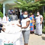 Dunkwa Area Gives To 3 Health Facilities To Combat COVID-19