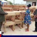 PENTSOS Donates Desks To Schools In Sawla Area