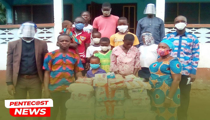 Atakora Central Assembly Supports Donkorkrom Orphanage
