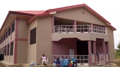 Retired Minister Builds 1000-Seater Church Building 1