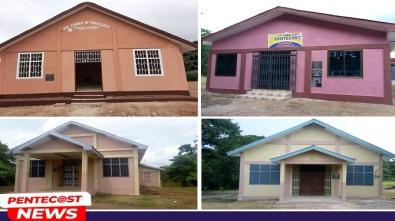 5 Church Buildings Dedicated In Berekum Area (2)