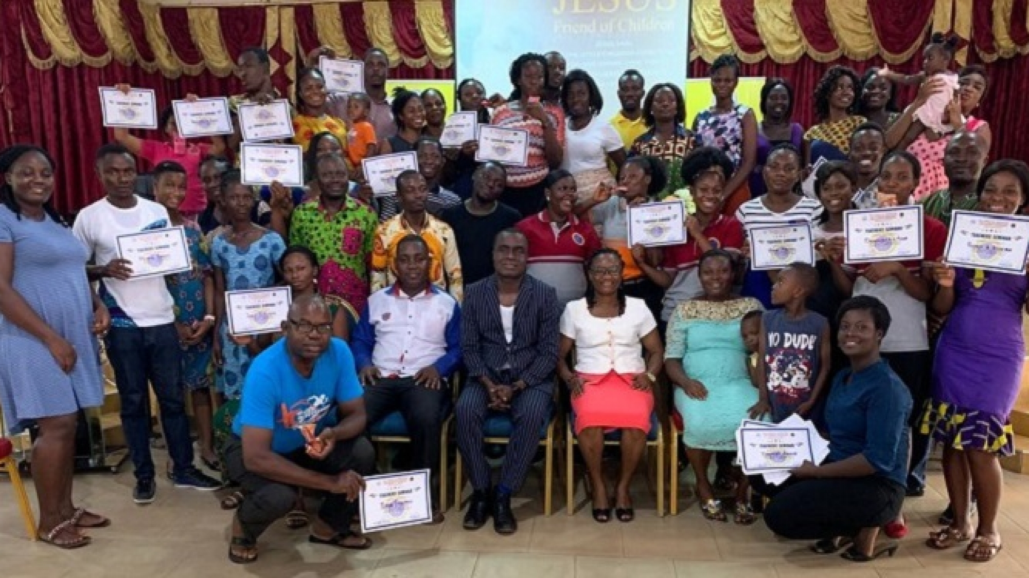 Children's Ministry Workers Undergo Training