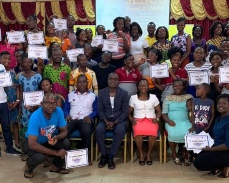 Children's Ministry Workers Undergo Training