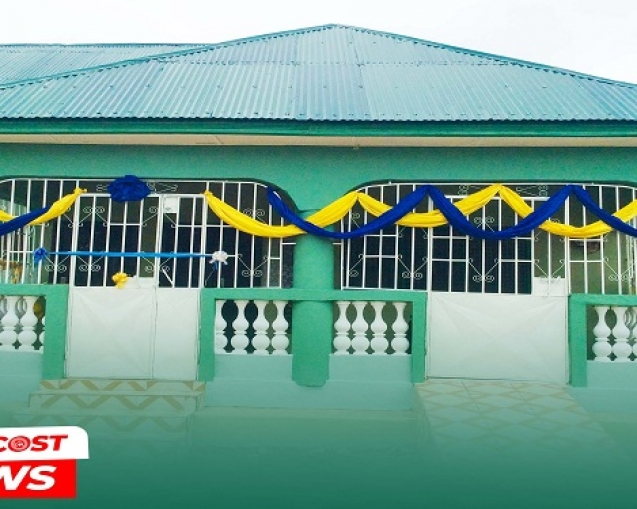 Gbongbonduori District Mission House Dedicated pix1