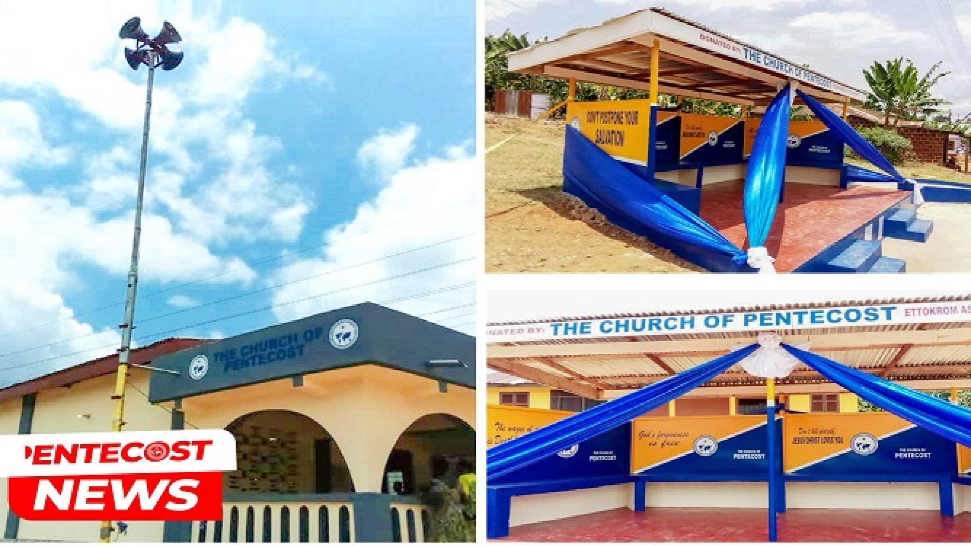 Old Tafo-Akim District Dedicates Ettokrom Bus Stop Information Centre1