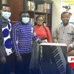 Sunyani PIWC PEMEM Donates Musical Instrument, PA System To Liberia Central Church