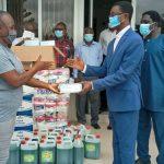 Winneba Area Donates PPE To Trauma And Specialist Hospital