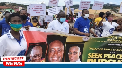 Asamankese Area Launches Agent Of Peace Campaign pix2