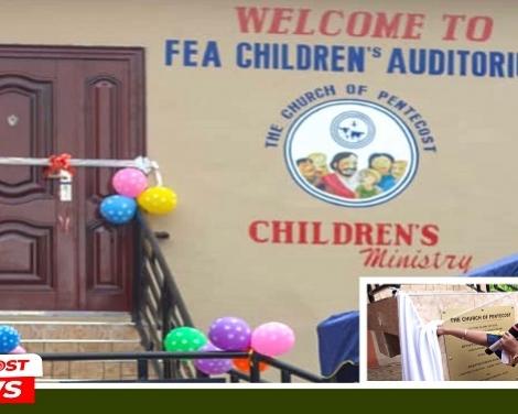 Foso English Assembly Dedicates Children's Block pix1