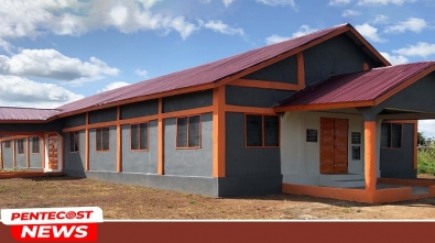 Gbingbani District Central Church Building Dedicated 1