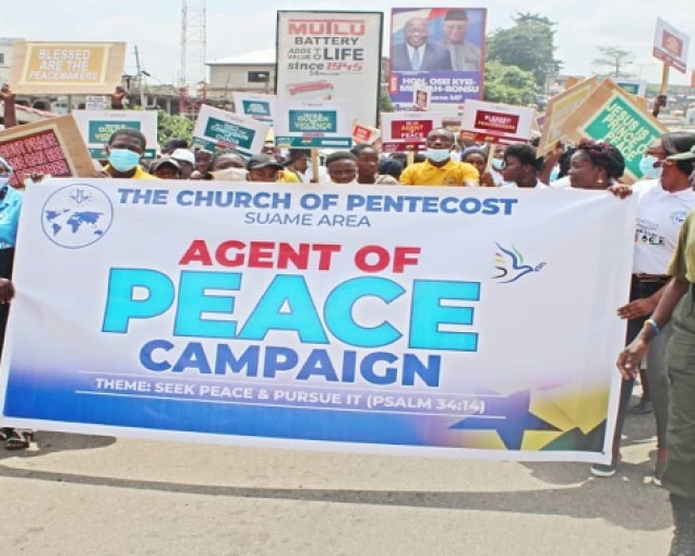 Suame area peace campaign