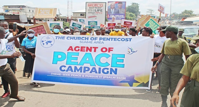 Suame Area Launches Agent Of Peace Campaign