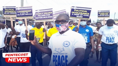 Agent Of Peace Campaign Launched In Three Constituencies In Axim Area(1)