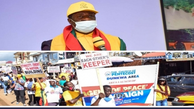 Dunkwa Area Launches Agent Of Peace Campaign(1)