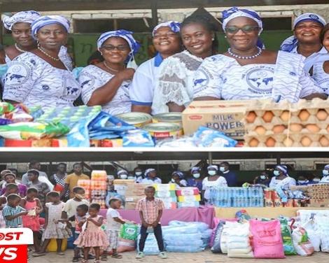 PIWC Sakumono Womens Ministry Visits New Life Orphanage 2