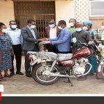 Gada Assembly In Queen City District Donates Motorbike To Missions