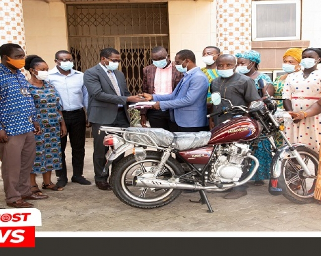 Gada Assembly In Queen City District Donates Motorbike To Missions (1)2