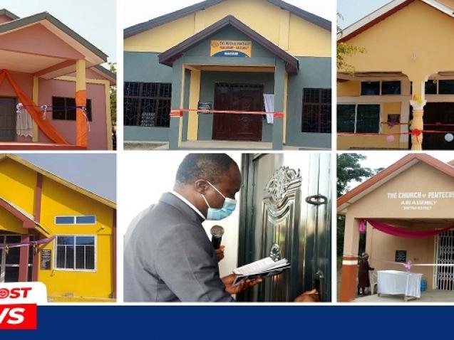 Berekum Area Dedicates 6 Church Buildings 1