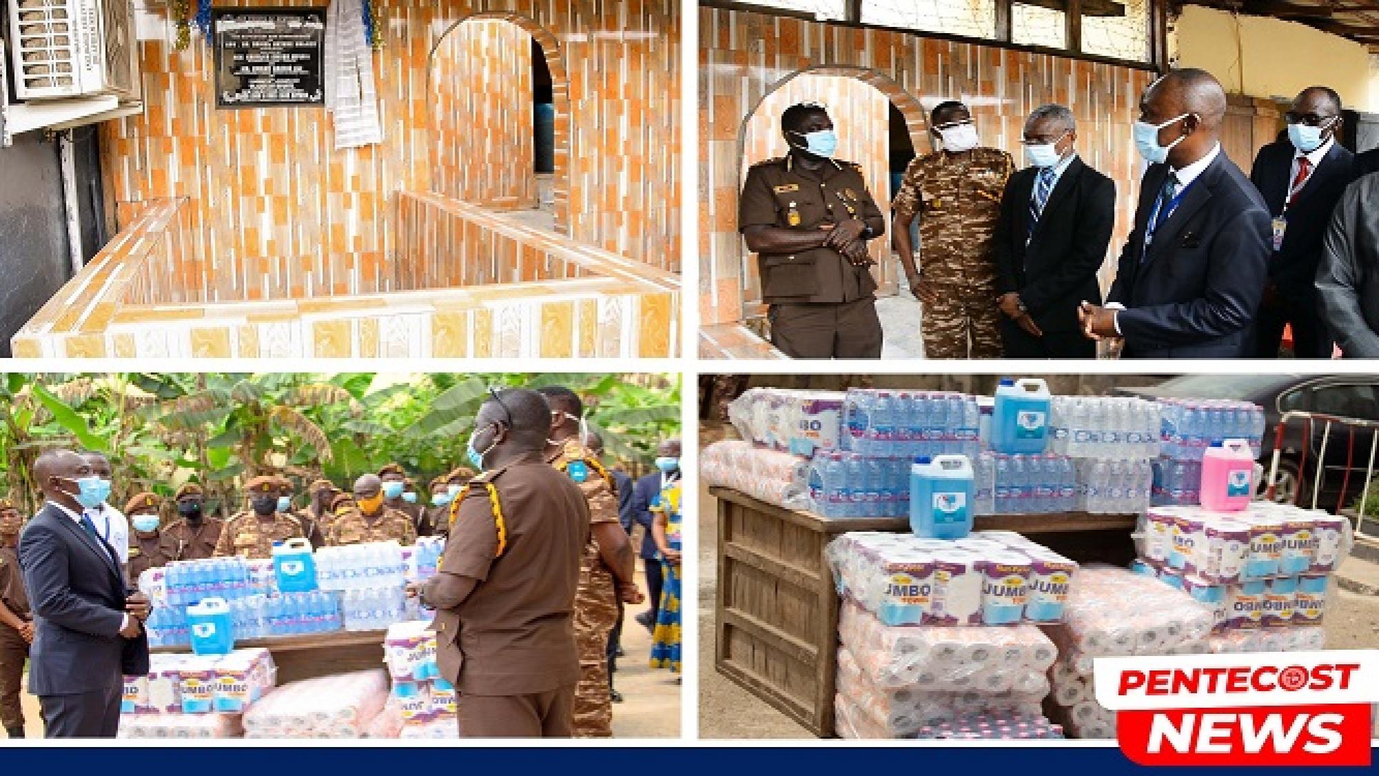 Tarkwa Area Dedicates Baptistery For Ghana Prisons Service 01