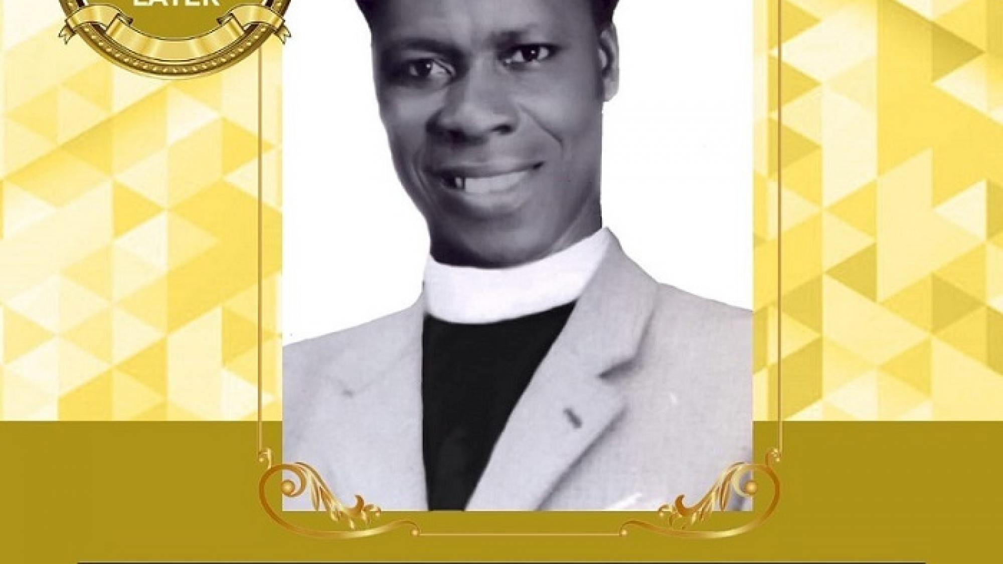 Apostle Joseph Egyir-Paintsil - poster