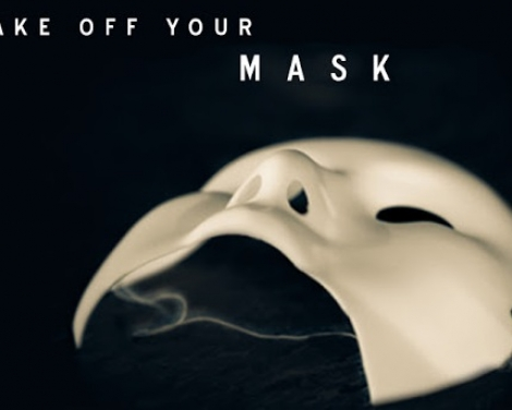 take off your mask