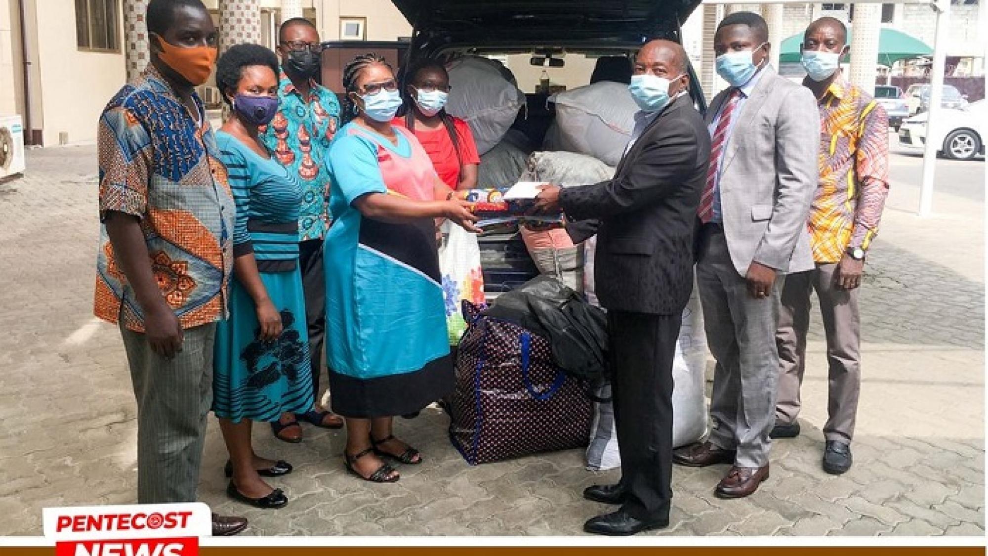 Konongo Area Donates 01
