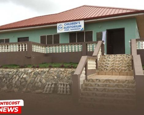 Takoradi PIWC Dedicates Childrens Auditorium2