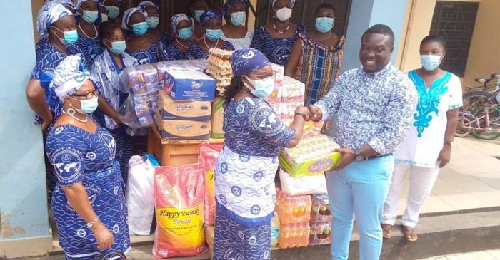 Konongo Area Women's Ministry Visits Yawkwi Caring Homes Village