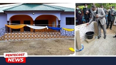 Apostle Antwi Dedicates Mission House & Borehole For Frami Community2